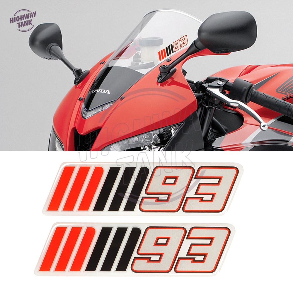 3d motorcycle windshield decal sticker motocross windscreen mm93 mm 93 stickers case for bmw yamaha honda