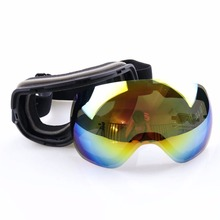 1PC Snow Skiing Goggle Glasses /UV- Protection Multi-Color Double Anti-fog Lens Outdoor Sports Goggles & Sunglasses