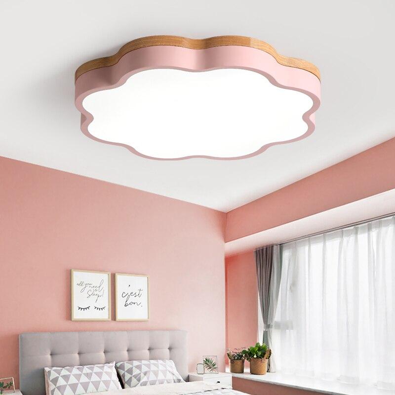 Children LED ceiling light Boy Girl Princess Cartoon Flower Bedroom ...