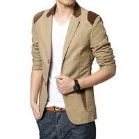 Mens blazer Casual khaki Slim Fit Plus Size 4XL 5XL 6XL Suits Jacket Blazer Men 3 Colors M 6XL for men big size new Male coat