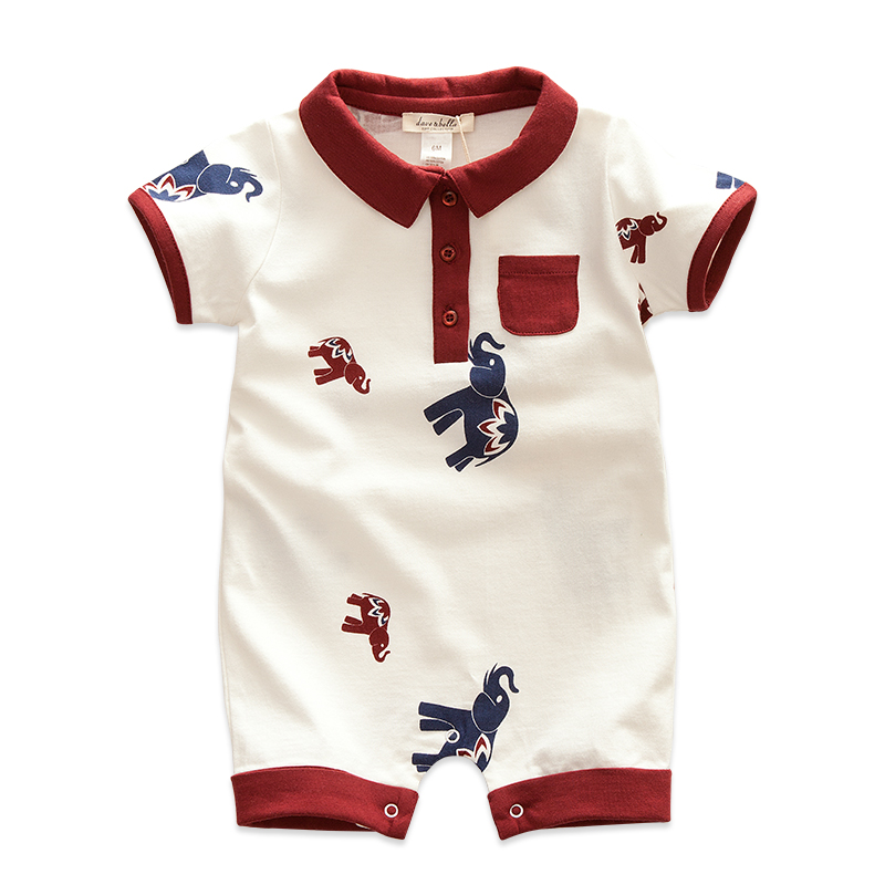 ФОТО new design free shipping 100% cotton short-sleeve new born baby bodysuits & baby clothes & jumpsuits in summer