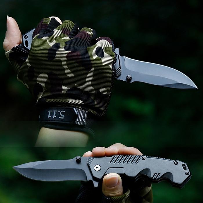 Tactical Folding Pocket Knife Survival Hunting Camping Blade Knives Faca Inox Supervivencia Militar Navajas Vouwmes Canivetes