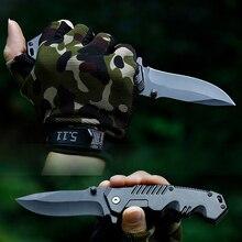 Тактический складной карманный ножи выживания Охота Кемпинг лезвие для шашлыков ЦАВС Inox Supervivencia Militar Navajas Vouwmes Canivetes