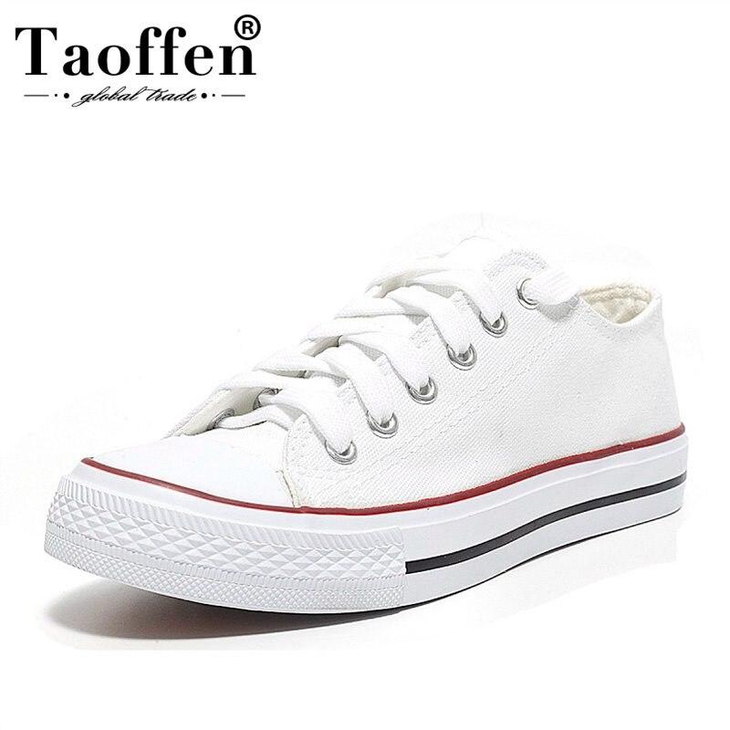 Taoffen Dames Daily Casual Vulcanisé Chaussures 5 Couleurs Femmes Mode Croix Sangle Vacances Chaussures Femmes Datant Chaussures Taille 35- 39
