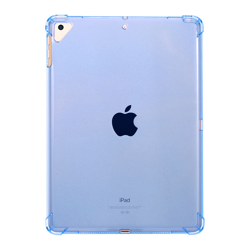 Case For iPad 10 2 2019 Clear Silicone With airbag Back Cover For iPad 7th Generation