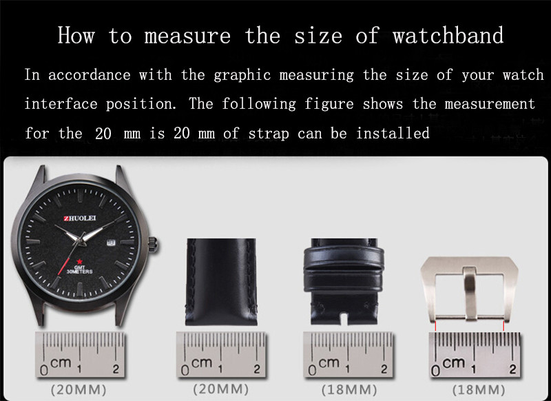 Cheap Pulseira do relógio