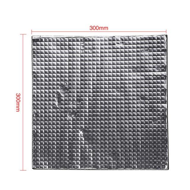 Parte de la impresora 3D calentador de cama aislante térmico de algodón de aislamiento térmico para almohadilla de aluminio térmico PCB QJY99