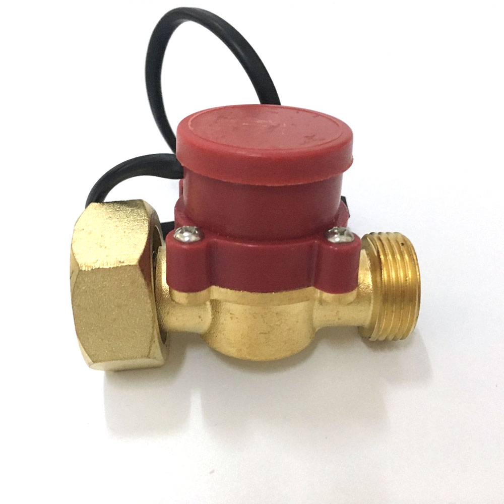 Durable Circulation Pump Parts Water Flow Sensor Switch Female to Male Thread Connector 1 inch 3/4 220V 120W