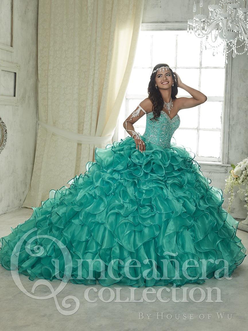 Compra Verde Vestido De Quinceanera Online Al Por Mayor De
