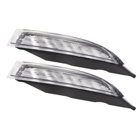 Fit for Volkswagen Scirocco R 2010 2014 LED DRL Daytime Running Light Daylight Driving yellow turn Signal lamp Fog Light