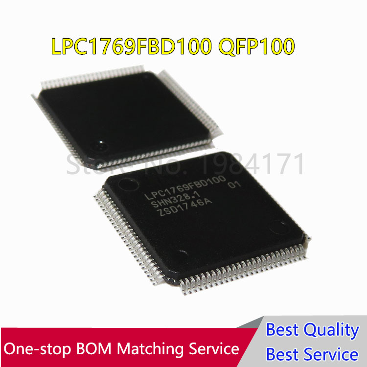 10pcs LPC1769FBD100 LPC1769 LPC1769FBD QFP100 New