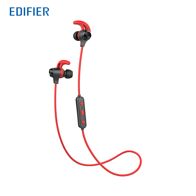 EDIFIER W280BT Bluetooth Earphones In-ear Wireless Headphones IPX4 Enclosure Rating Sports Headset BT V4.1 Dual Battery Design beats pill 2 0 bluetooth speaker w powerbeats2 wireless in ear headphones