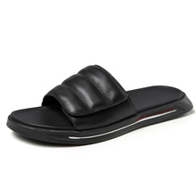 fender summer men genuine leather slippers Men Slippers Flip Flops casual Shoes beach outdoor anti-skid cowhide confortable mens anti skid sandals fender summer men genuine leather slippers cowhide sneakers men flip flops casual shoes beach outdoor