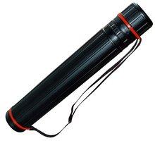 1 шт. D100mm L650mm телескопический держатель прокрутки пластиковые трубы рисунок трубки сайт ствола корпус инструмента