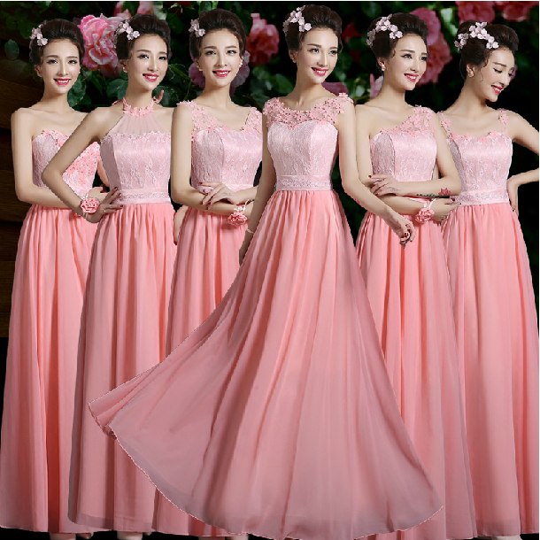 Popular Watermelon Bridesmaid Dresses-Buy Cheap Watermelon ...