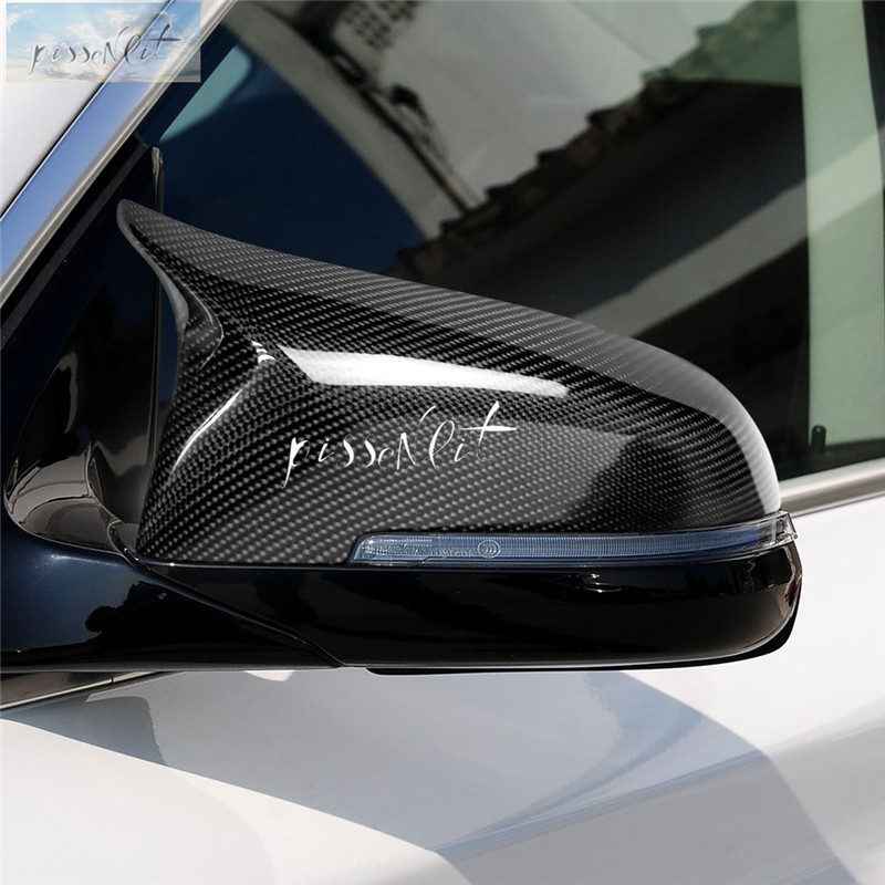 Rearview Mirrors Cover Real Carbon Fiber for BMW F20 F22 F30 F31 GT F34 F32 F33