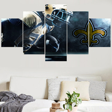Newest Sport Team Paintings New Orleans Saints Modern Home Decor Living  Room Bedroom Wall Art Canvas