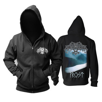 7 designs Zipper Sweatshirt Norway Viking metal Enslaved Rock hoodies punk black metal sudadera Outerwear shell jacket