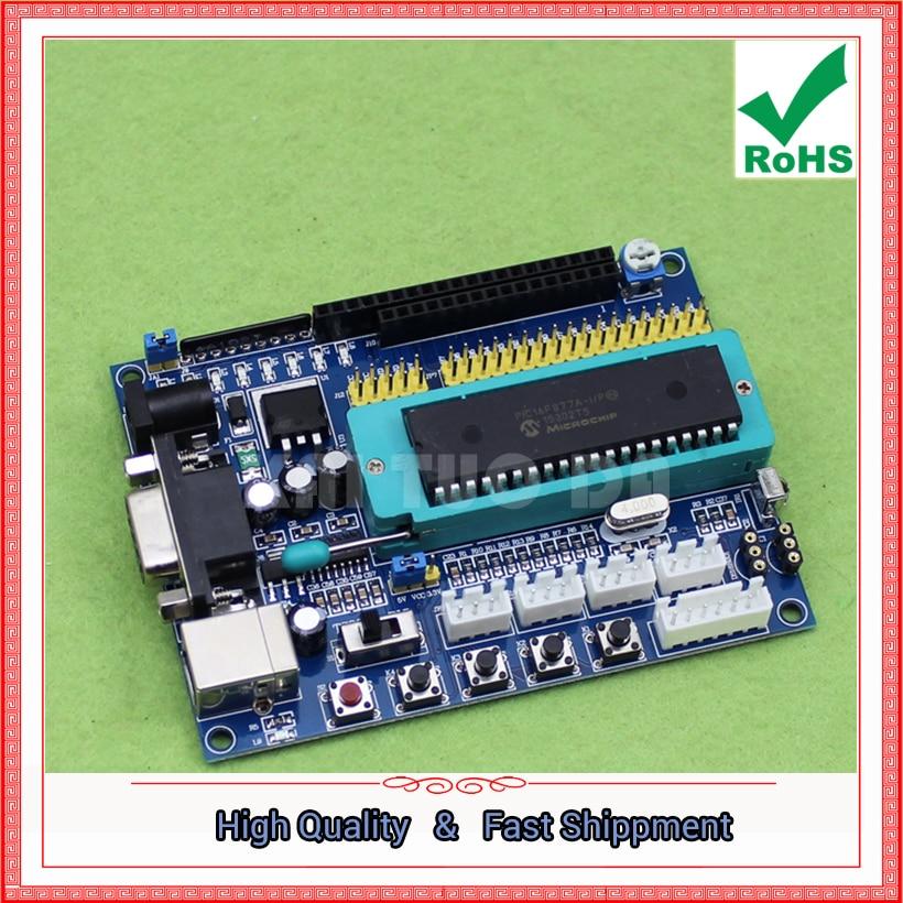 Free Ship 1pcs PIC System Board / PIC16F877A Development Board / PIC
