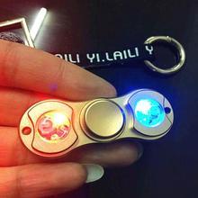 Spinner светящийся высокого качества Игрушка антистресс Спиннер для детей