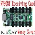 LINSN RV908 ПОЛНОЦВЕТНЫЙ RGB LED-Экран получение Карты 12 * HUB75 включены LED Video control system