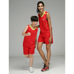 children clothes sport kids outfits basketball jersey girls and boys sport wearing sleeves training suits jersey JJS X-2603-kids