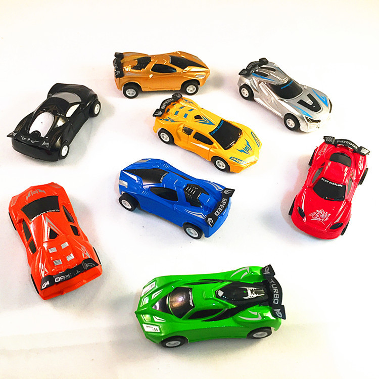 Rally Car Children's Toy Car Model Sports Car Pull Back The Simulation Car Return To The Truck Scale Model Vehiculos De Juguete