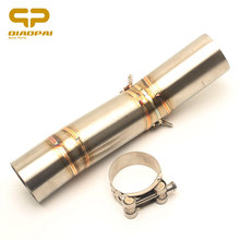 Refit Motorcycle Exhaust Link Pipe Moto Escape Middle Clamp For Suzuki GSXR600 600 GSXR750 K7 Accessories