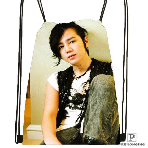Custom Jang-geun-suk_  Drawstring Backpack Bag For Man Woman Cute Daypack Kids Satchel (Black Back) 31x40cm#20180611-03-138
