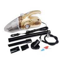 Portable 4 in 1 Car Dual Use Vacuum Cleaner Handheld Car   Auto   Inflatable Pump Air Compressor High Power with Digital Display