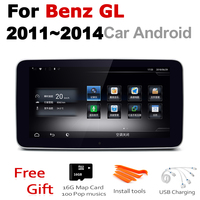 Car Android Radio GPS Multimedia player For Mercedes Benz GL 2011~2014 NTG stereo HD Screen Navigation Navi Media