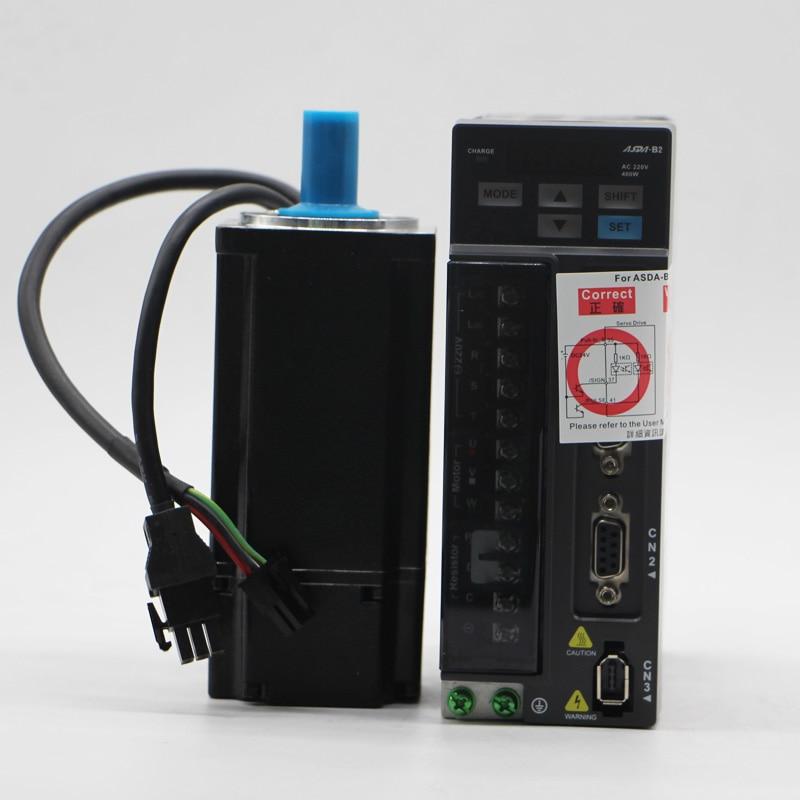 ECMA-C20604RS + ASD-B2-0421-B DELTA kw 3000 rpm 1.27nm ASDA-B2 AC servo motor driver kit con 3 m potenza ed encoder cavo
