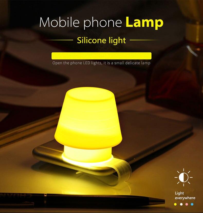 Mini Night Lamp Phone Holder