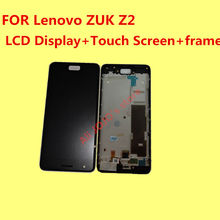 FOR Lenovo ZUK Z2 LCD Display +Touch Screen + frame+Tools 100% Original Digitizer Assembly Replacement Accessories  For Phone