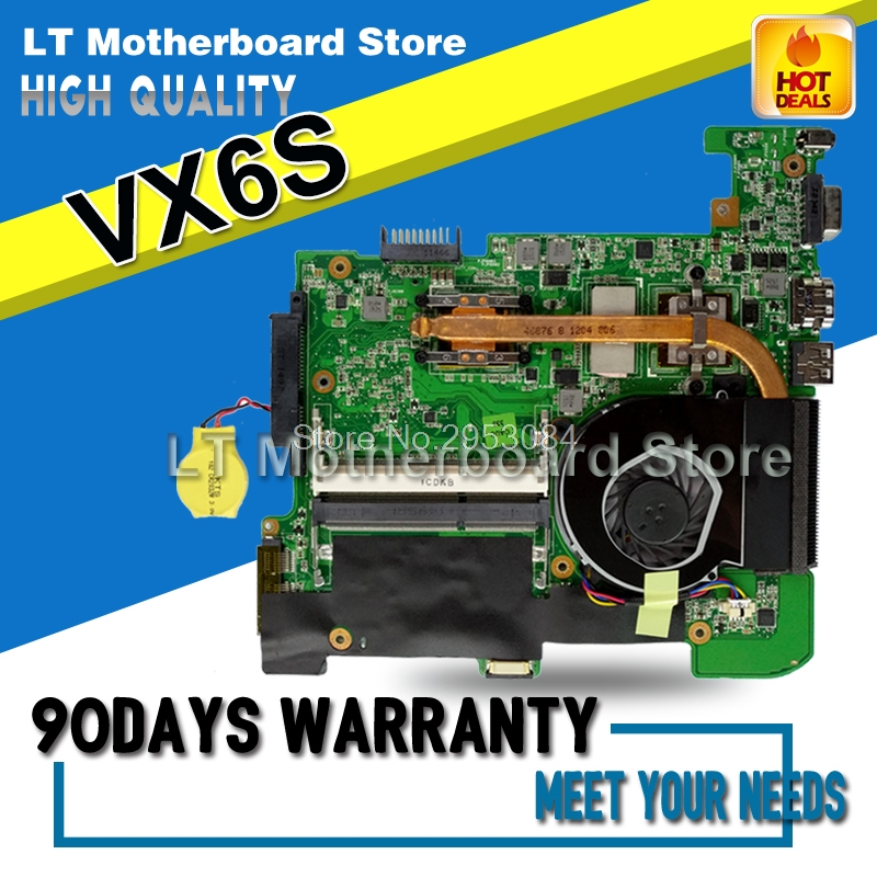 Original For ASUS VX6S REV2.0 Laptop Motherboard System Board Main Board Card Logic Board Tested Well S-4