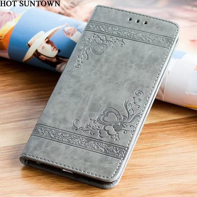 huge discount ccf4b abcaf Embossed Wallet Case For Samsung Galaxy A5 2017 Case Leather Flip Cover  Samsung Galaxy A5 2016 Cover Cases Mobile Phone Shell