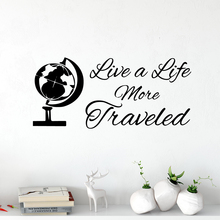 Cartoon tellurion Sentence Wall Decal Removable Mural for Living Room Vinyl Company School Office Decoration Creative Stickers