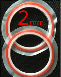 2roll 2mm red high strength acrylic gel adhesive double sided tape adhesive tape sticker for phone.jpg 250x250