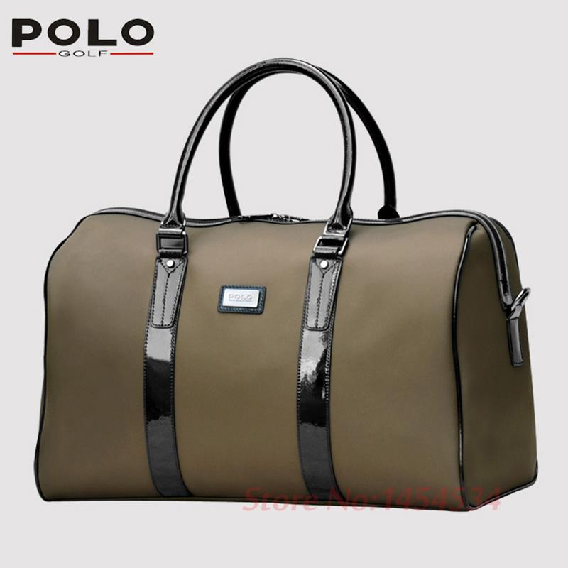 2017 quality New POLO Nylon Golf Koffee Clothes Bag Waterproof Ball Overnight Shoes Cart Bag Large Capacity Travel Apparel Bags