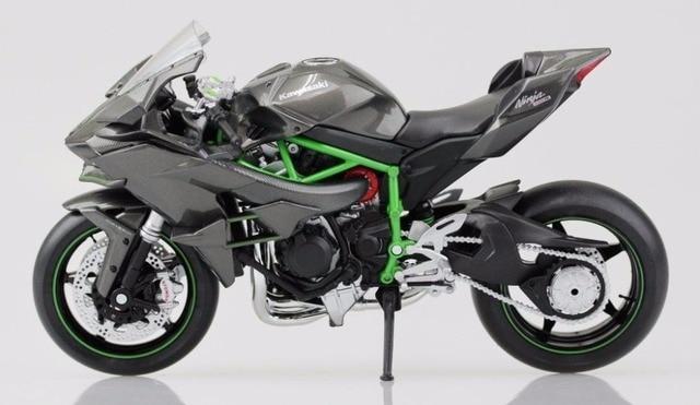 1/18 Масштаб 2016 Kawasaki H2R Motorcylce Литье Maisto Модель Со Съемной Базы Игрушки Детские Коллекции