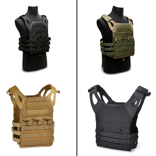 Wholesale Army Green Tactical Combat Vest JPC Outdoor Hunting Wargame Paintball Protective Plate Carrier Waistcoat Airsof in Hunting Vests from Sports Entertainment