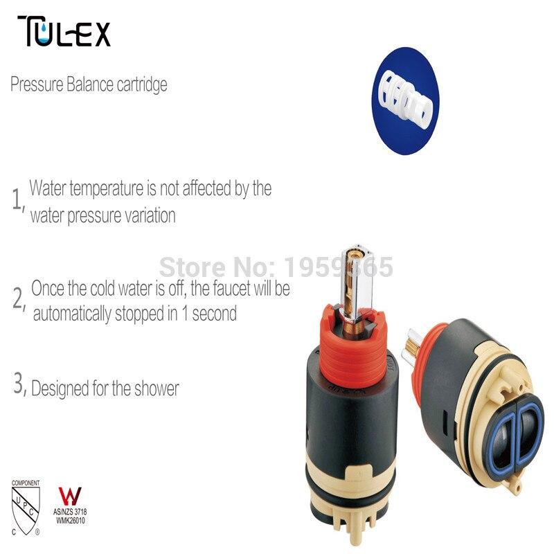 40MM Pressure Balance Rotary Type Ceramic Disc Mixer Faucet ...