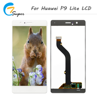 No Dead Pixel 5 2 Inch For Huawei P9 Lite LCD Display Touch Screen Digitizer Assembly