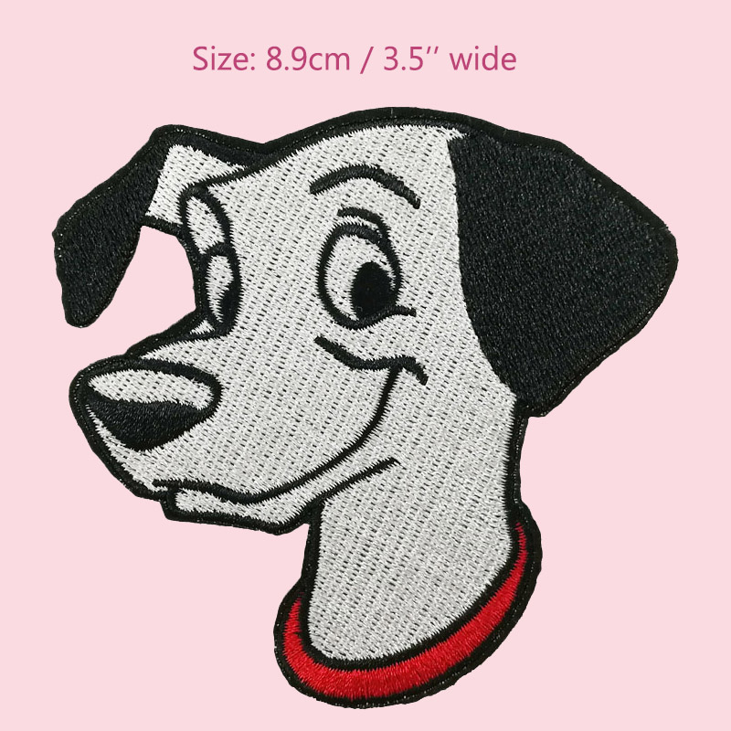 Spot Puppy Dog Patches For Clothing 101 Dalmatians Movie Craft