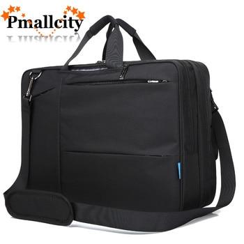 17 17.3 inch Convertible Backpack Messenger Bag Shoulder bag Laptop Case Business Briefcase Multi-functional Travel Rucksack  laptop bag