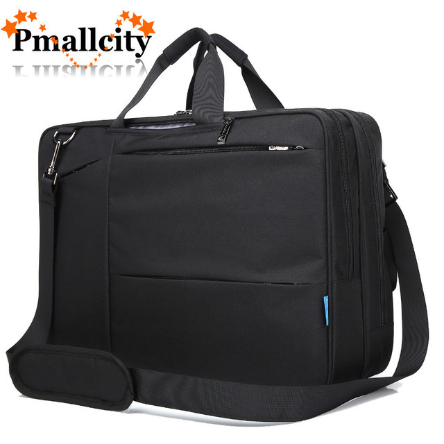 17 3 Inch Convertible Backpack Messenger Bag Shoulder Laptop Case Business Briefcase Multi Functional