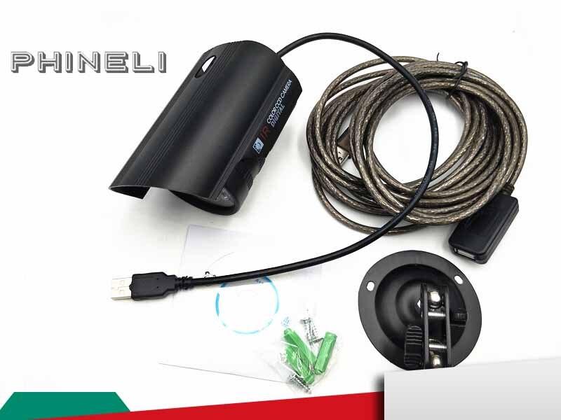 Caméra de sécurité intérieure filaire USB CCTV caméra de sécurité IR Vision nocturne étanche avec câble USB 5 M
