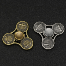Retro Metal fidget spinner antistress toys for children best golden hand spinner #MF52