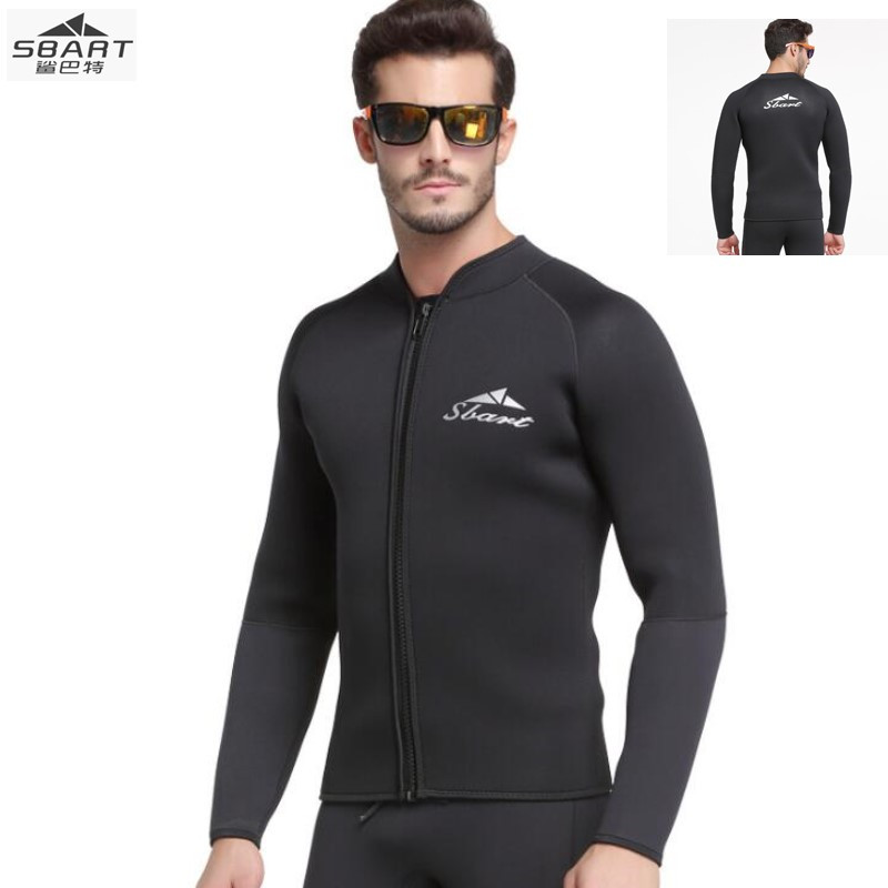 Sbart 1089 3MM thick warm diving suit split jellyfish clothing long sleeved jacket winter surf sunscreen snorkeling equipment sbart 303