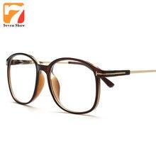 0ccf514adf7 Seven Show Square TF Men Metal frame Eyeglasses Women Spectacles Oversized  Glasses
